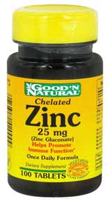 Zink 25mg bei amazon