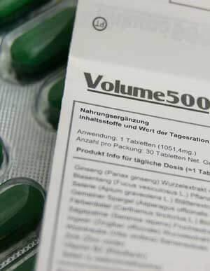 Volume 500 Packungsbeilage